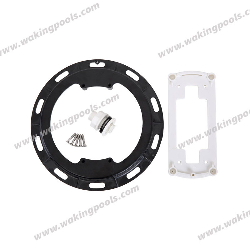 plastic white rgb wall mounted led pool light for liner pool