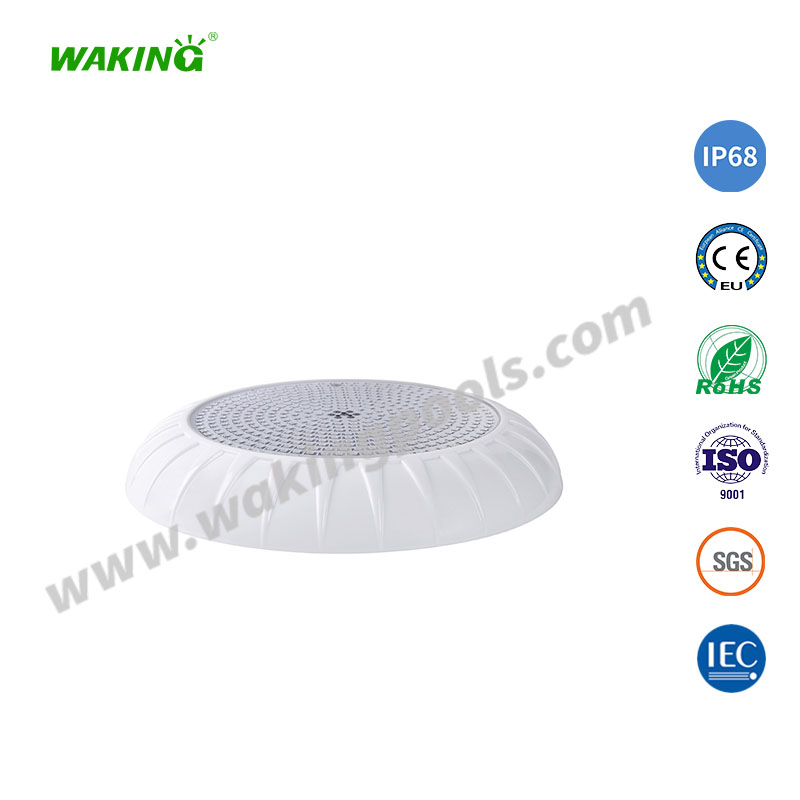 plastic ultra thin resin filled wall mount LED pool light
