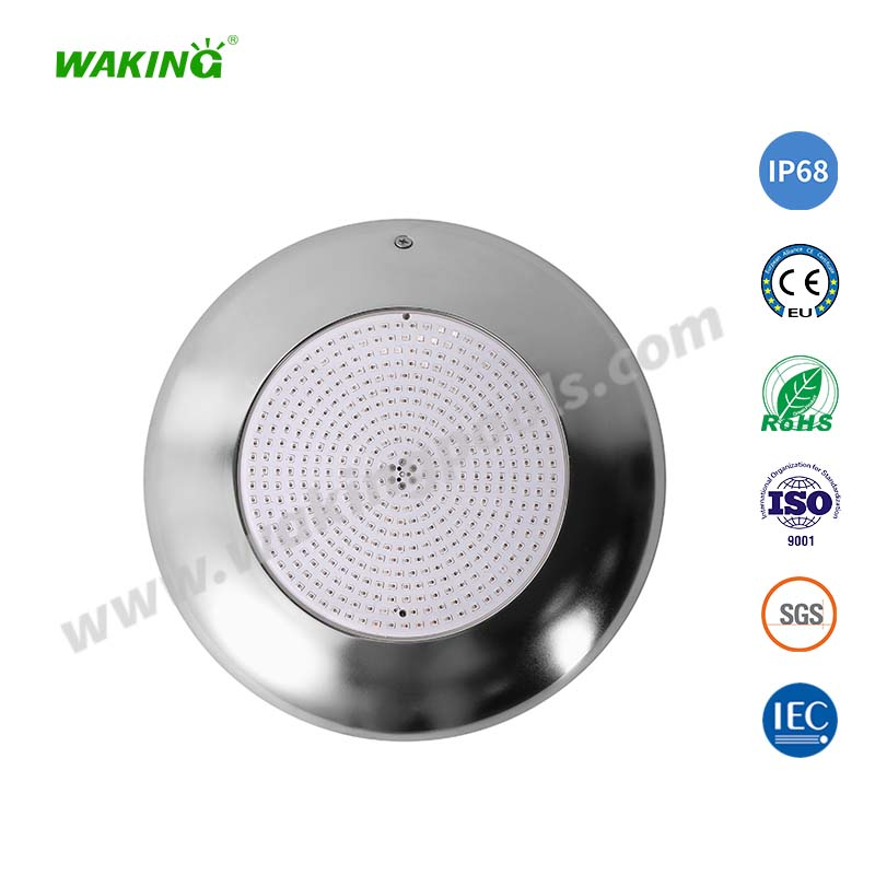 waterproof IP68 ultra thin resin filled underwater wall mounted led swimming pool light