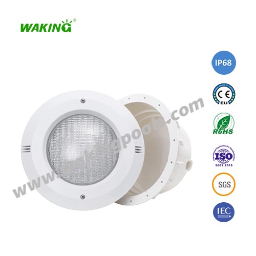 abs plastic par56 bulb IP68 waterproof underwater recessed led pool light