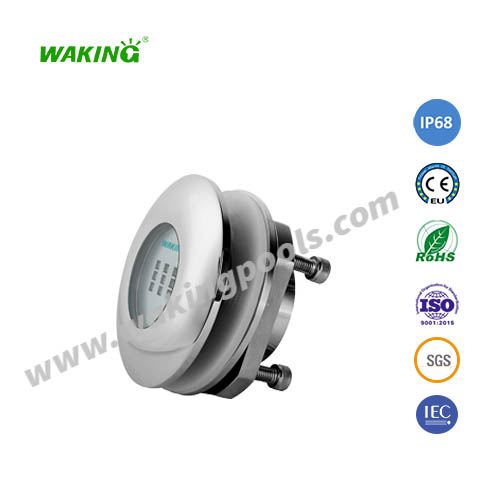 IP68 waterproof single color RGB led underwater boat light