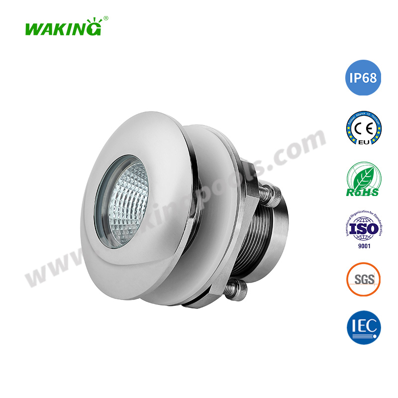 anti-corrosion SS316 waterproof color led boat light for poop deck