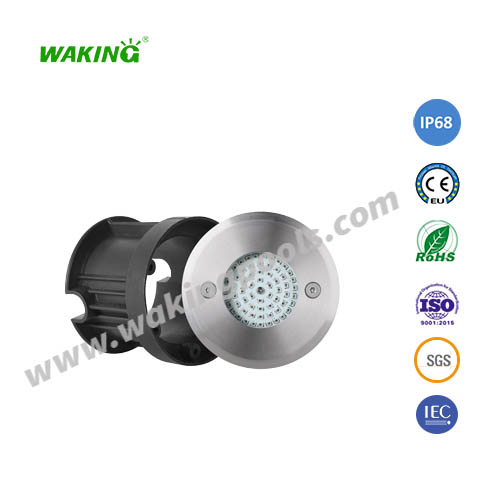 110mm 5w IP68 RGB led underground light