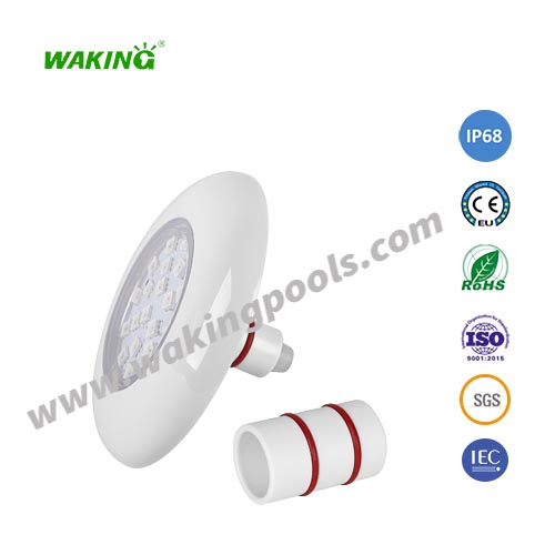 mini 150mm pc material DC 12V RGB 6W 9W LED pool light IP68 led under water lamp