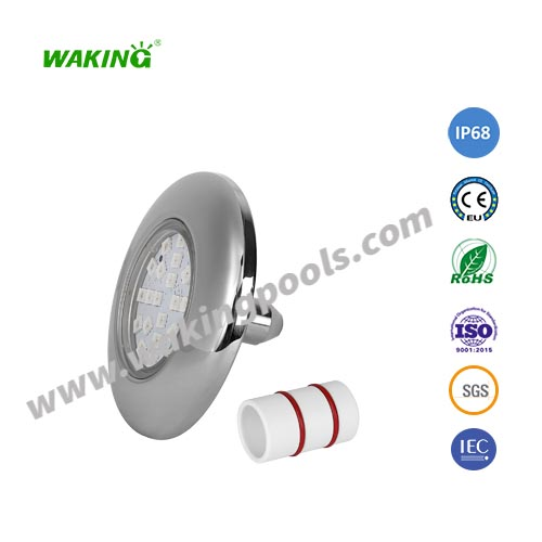 recessed small 95mm led pool light for casing pipe