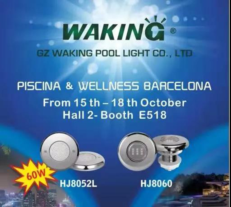 Success of WAKING in Piscina Barcelona Spain