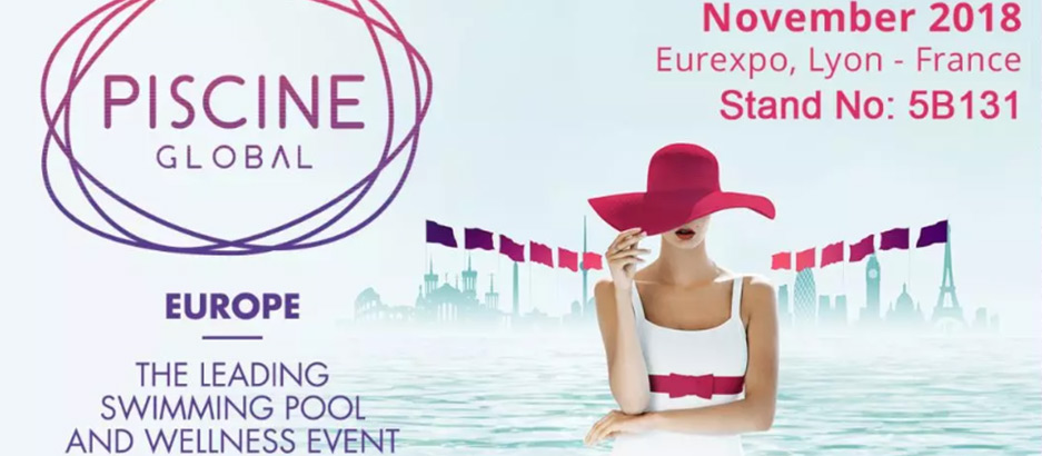 The biennial Piscine Global Europe was held in Eurexpo, Lyon, France.