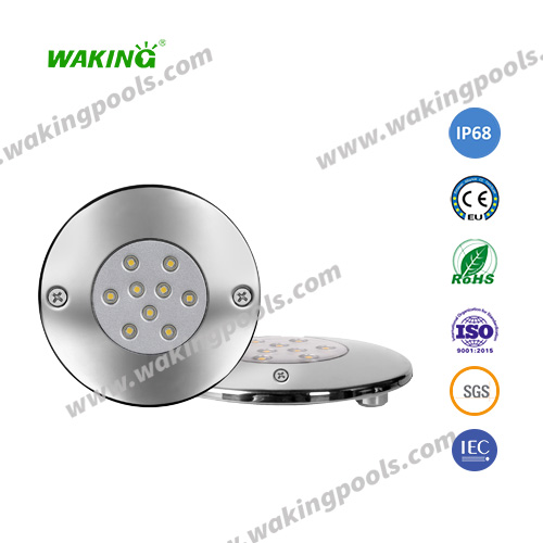 ultra-thin resin fill wall mounted led pool light