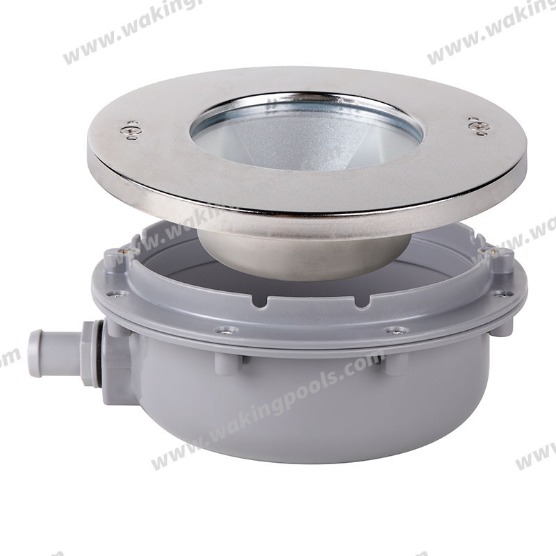 luxurious ss316 high quality high power led recessed pool light