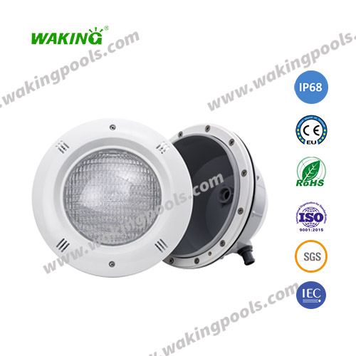 RGB recessed par56 underwater light waterproof IP68 swimming pool led light