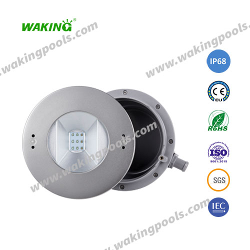 High power white RGB 35W embedded underwater LED swimming pool light