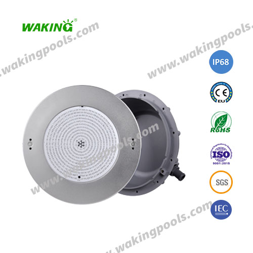Embedded /recessed 18W/25W/35W/40W swimming pool LED light with engineering plastic niche