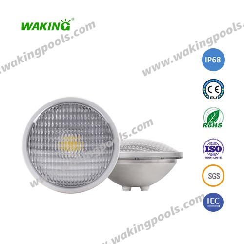 cob light source ss304/316 light body par56 led pool light bulb