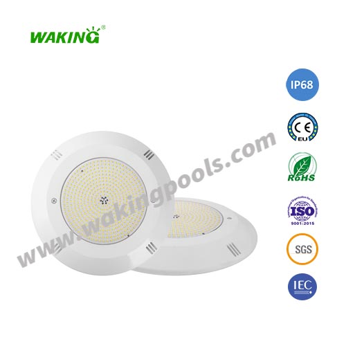 ultra slim resin filled wall mounted LED pool light