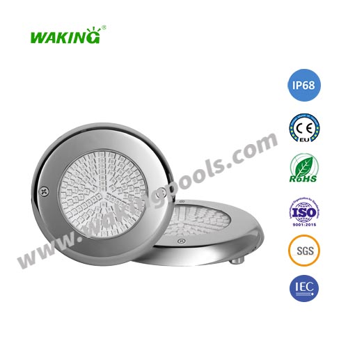 ultra thin SS316 304 AC DC 12V 24V 6W 12W 18W LED wall mounted pool light