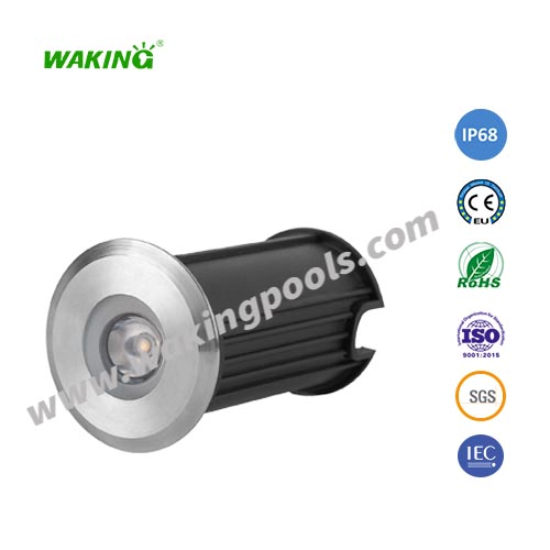 ip68 waterproof stainless steel underwater LED recessed pool light low power pool light