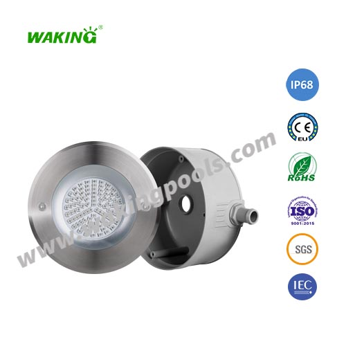 LED swimming pool light IP68 concrete pool wall recessed LED swimming pool lamp