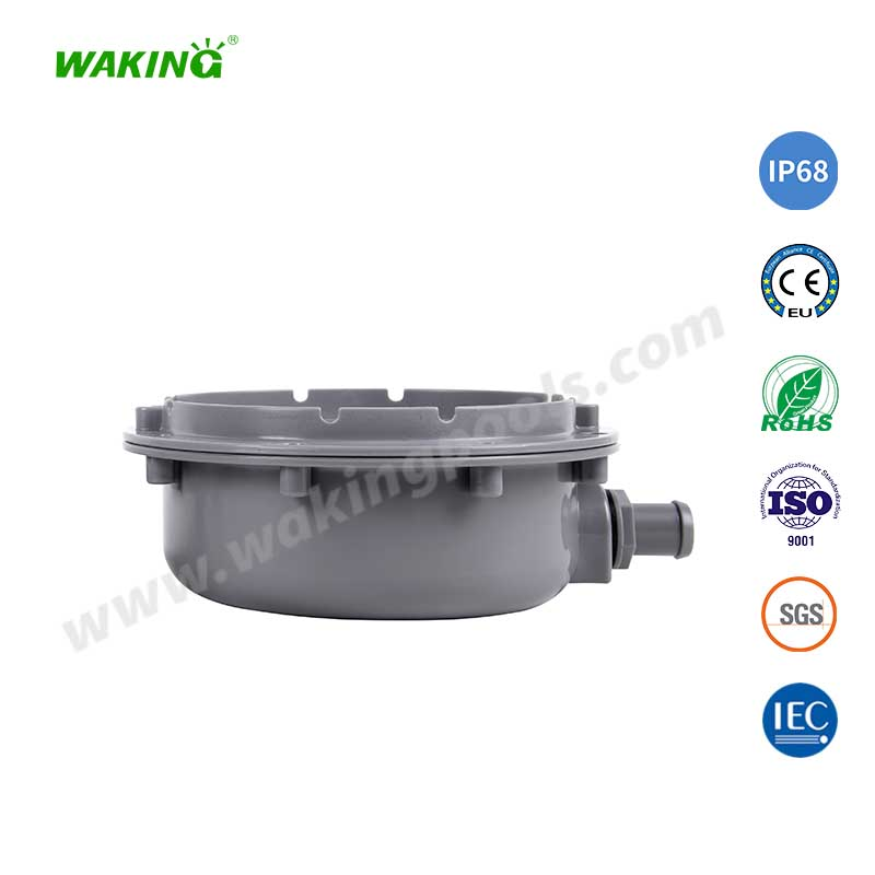 high quality stainless body color changing led recessed pool light