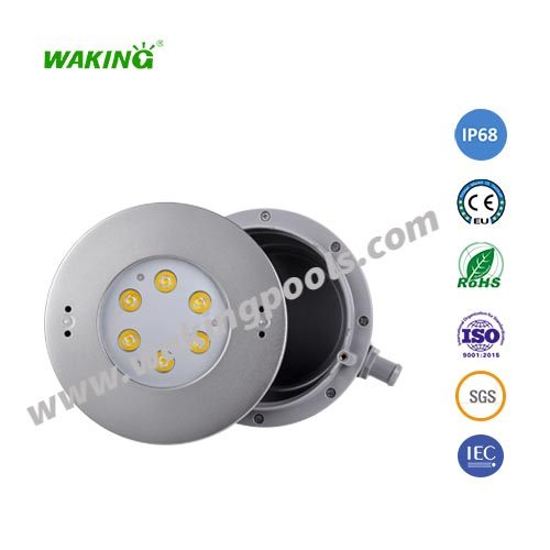 6-18W SS316 white rgb led recessed pool light