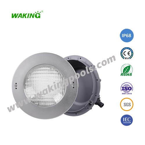 high end 12v rgb waterproof recessed led pool light underwater