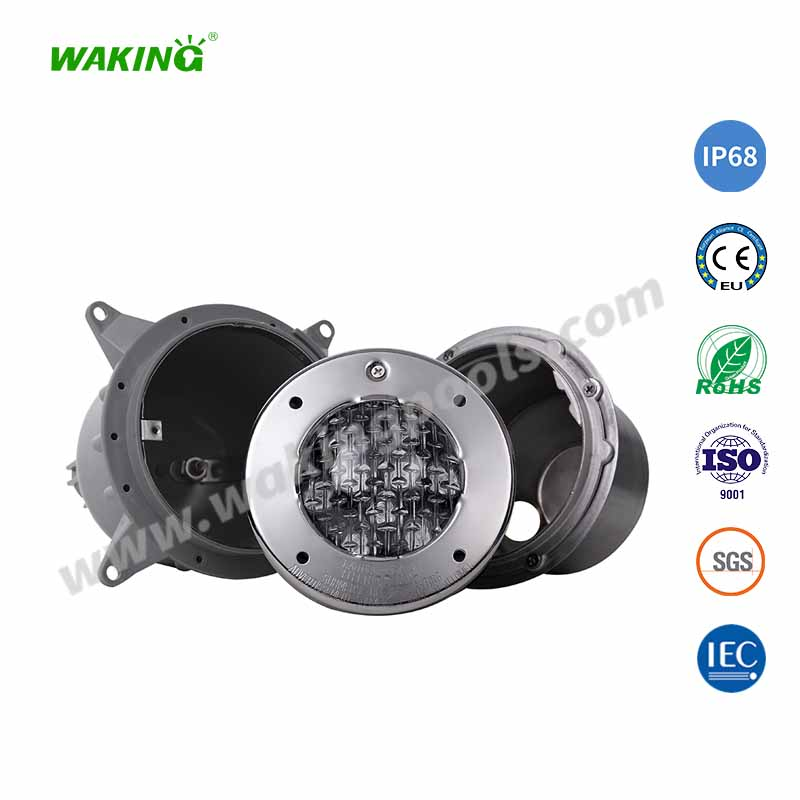 IP68 stainless color led recessed pool light for Pentair sap light replacement