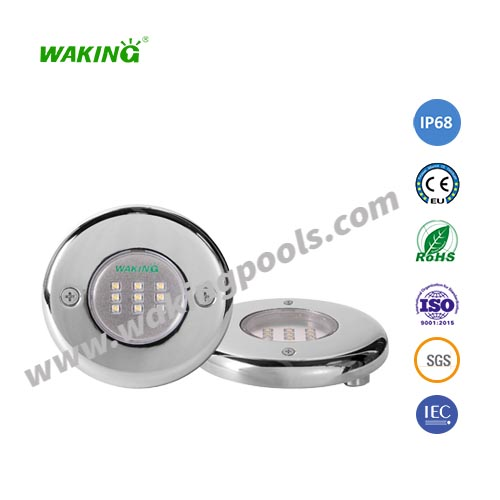 high quality stainless wall mount & recessed led pool light