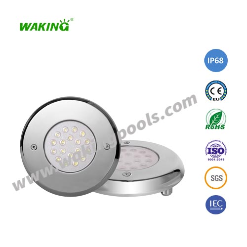 high end 12V IP68 316 stainless steel material outdoor led underwater light
