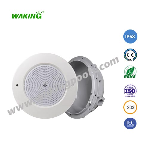 RGB recessed underwater light waterproof IP68 swimming pool led light