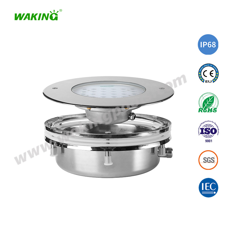 High-end SS316L 18-60W LED Recessed Pool Light