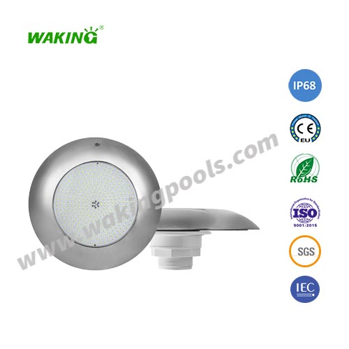 12v ip68 waterproof slim stainless steel body led liner pool light