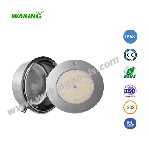 par56 bulb stainless light plate led recessed light with stainless niche