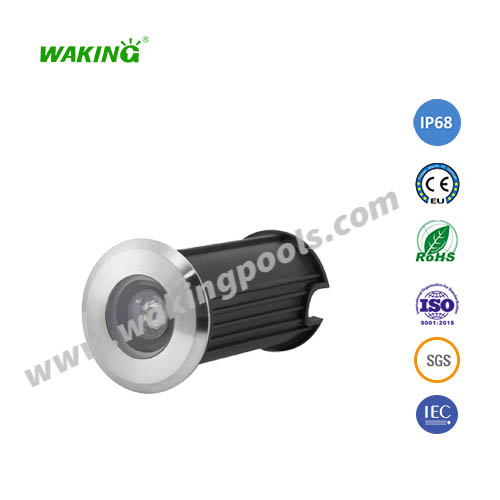 52mm 3w 12v 24v mini led underground light