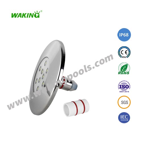105mm stainless casing pipe led recessed underwater light