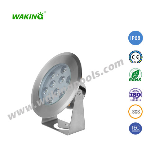 150mm ss316 high quality 6-18w led spotlight fixture
