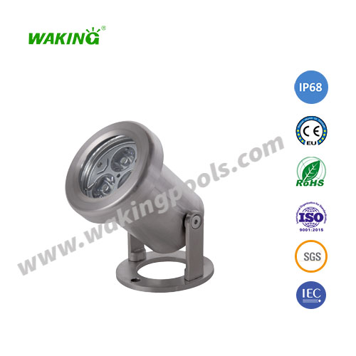 small ss316 304 3w 6w rgb rgbw led underwater spotlight