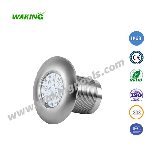 outdoor led 5w ip68 underwater light stainless steel swimming pool led light