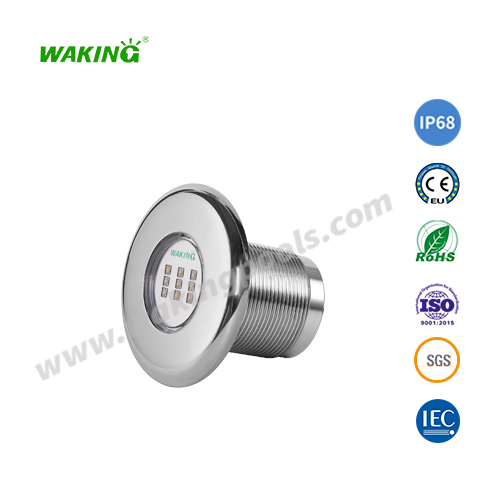 high quality ss316 recessed underwater pool light with 2 inch thread