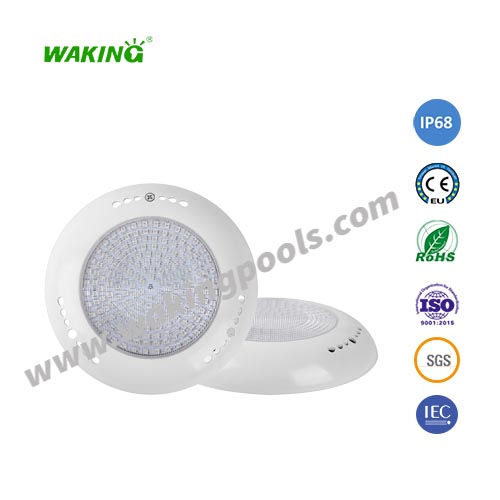 ABS UV 12-25w AC DC white RGB wall mounted led pool light