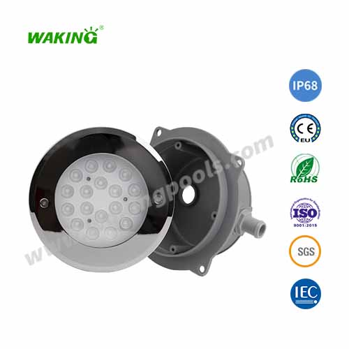 underwater submersible led lights recessed ip68 inground led pool light single color rgb